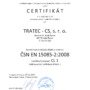 Certifikat 15085-2 CL1